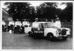 Polizeieskorte bei den Beatles
