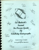 Second In-Person Guide of Celebrity Autographs
