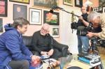 ZDF dreht bei Duderstädter Wolfgang Windhausen