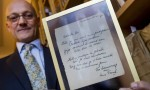 Handwritten Anne Frank poem sells at auction for £119,000
