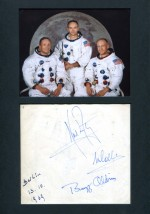Apollo 11 In-Person Berlin autographs