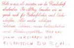 … das Ende der Handschrift?