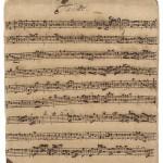 Bach manuscript breaks auction house record