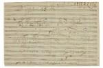 Beethoven's Emperor Concerto sketch beats estimate by 51%