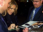 Meeting Céline Dion in Stuttgart on June 16th, 2008