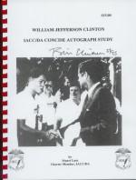William Jefferson Clinton IACC/DA concise autograph study