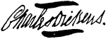 Charles Dickens Autographs - A Signature Study